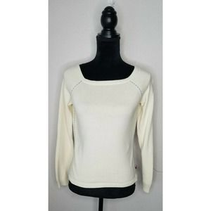 Tommy Jeans Long Sleeve Pullover Sweater Top XL